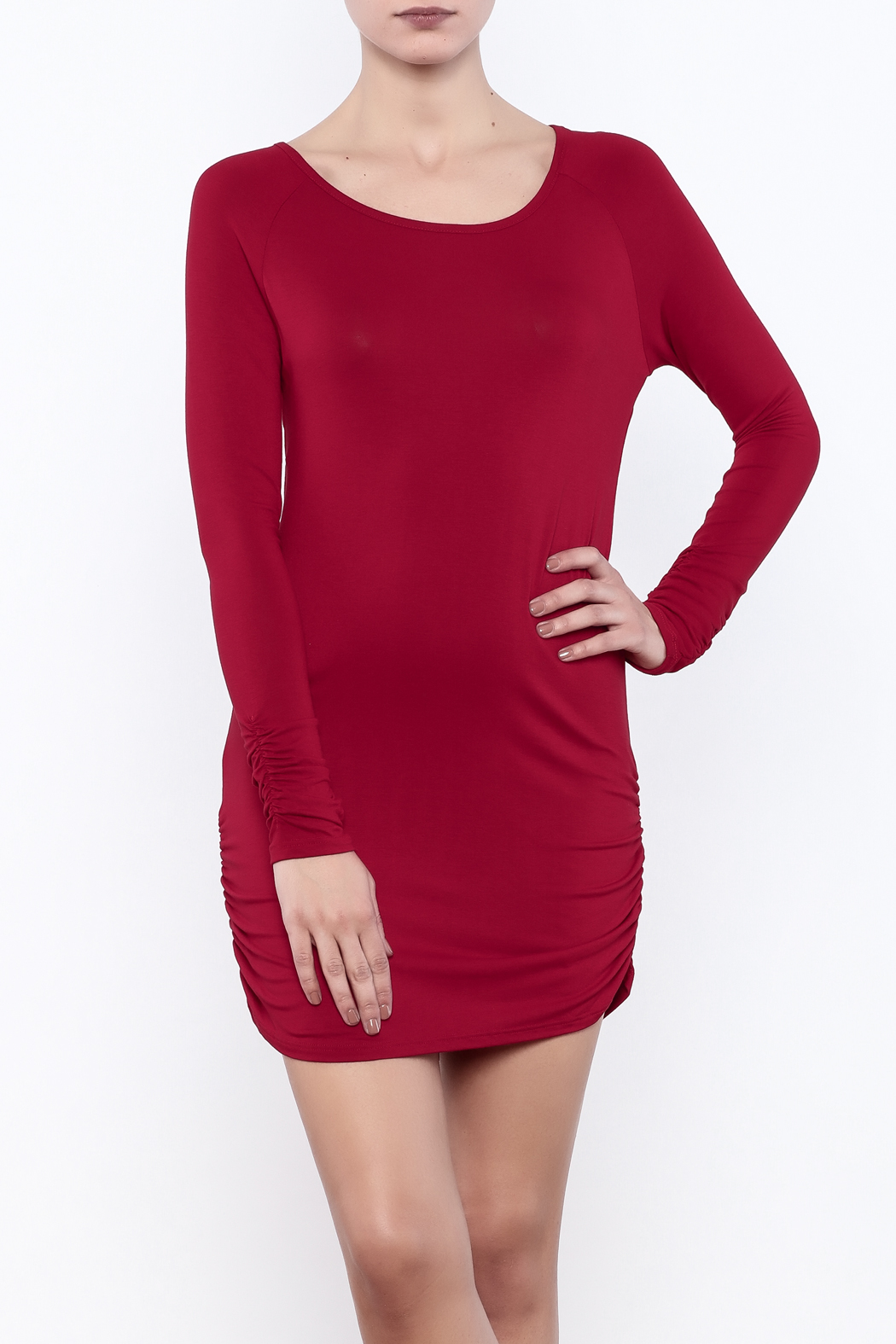 vanilla bay Long Sleeve Tunic - Front Cropped Image