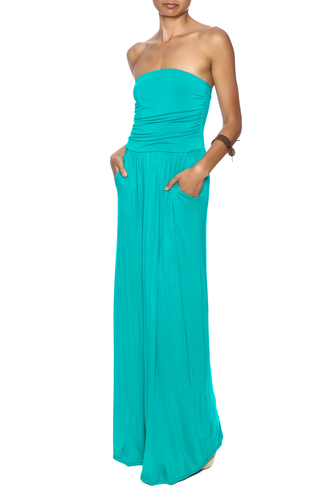 vanilla bay Rebecca Maxi Dress - Front Full Image