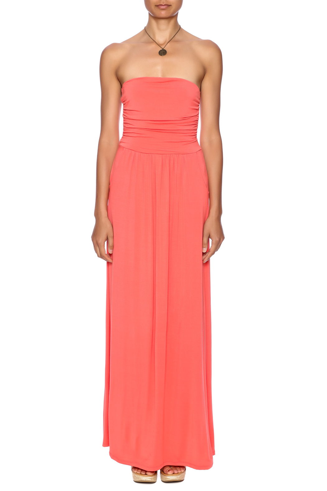 vanilla bay Rebecca Maxi Dress - Front Cropped Image