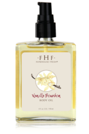 Farmhouse Fresh VANILLA BOURBON OIL 4 oz. - Product Mini Image