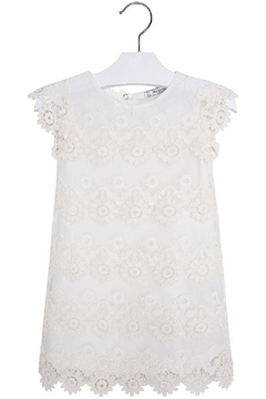 Shoptiques Product: Vanilla Crochet Dress