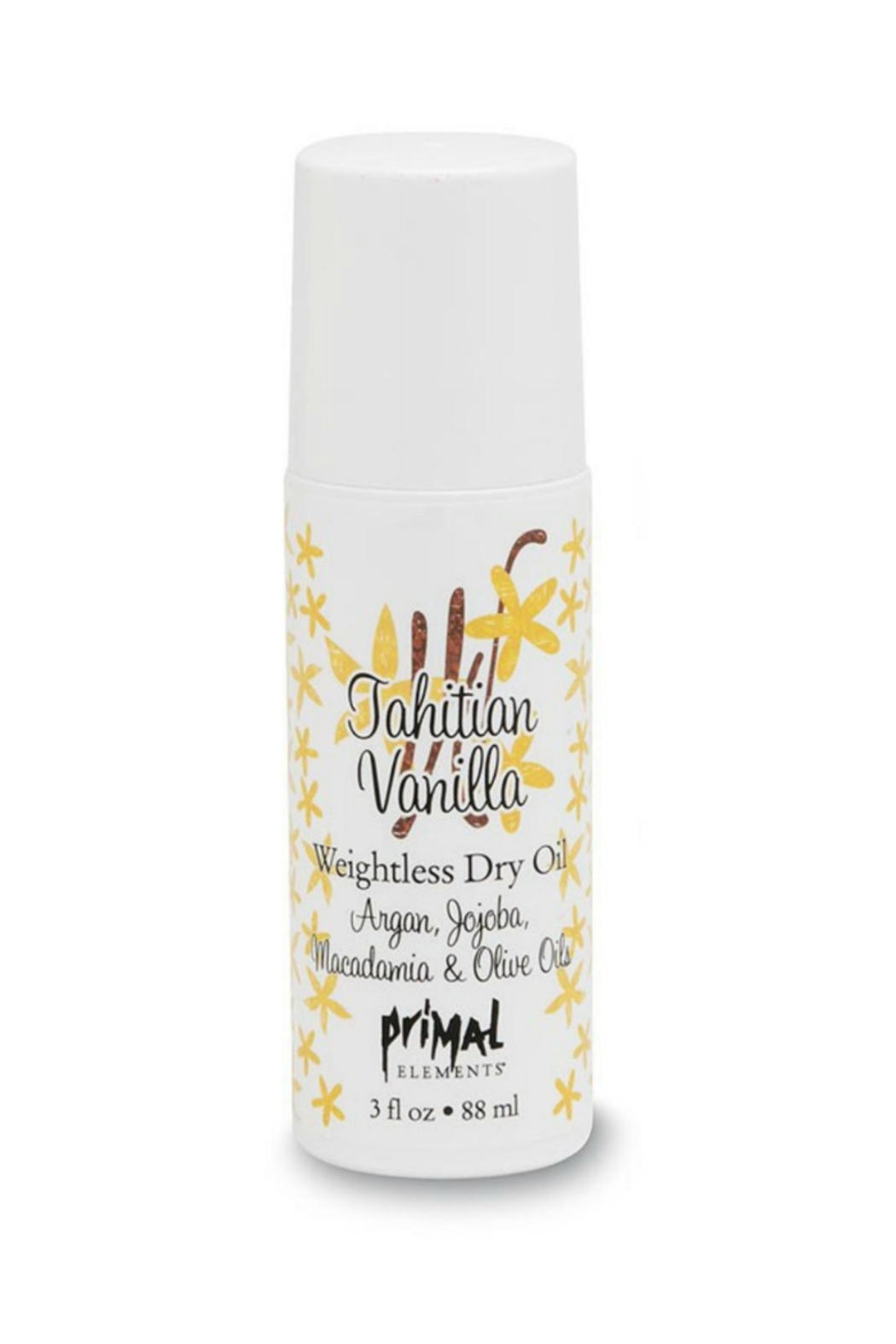 Primal Elements Vanilla Oil Roll On - Front Cropped Image
