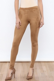vanilla bay Faux Suede Leggings - Product Mini Image