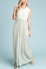 vanilla bay Lace Top Maxi - Product Mini Image