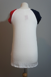 vanilla bay Red-White-Blue Top - Side cropped