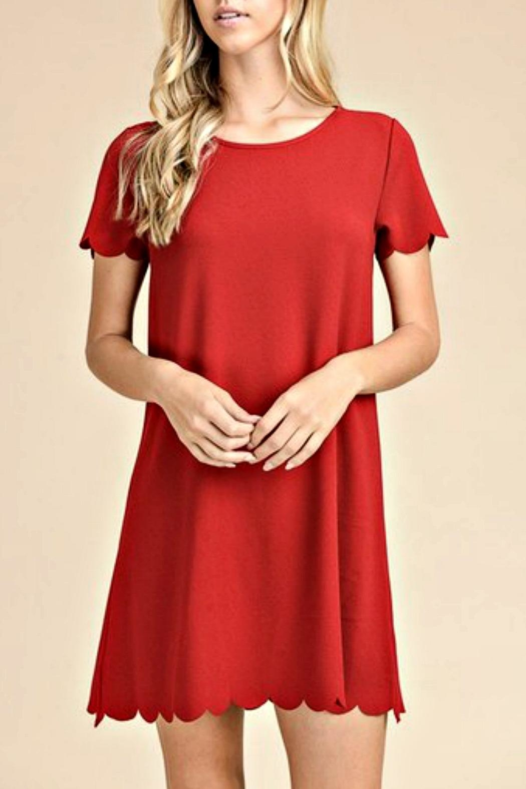 vanilla bay Robin Red Dress - Main Image
