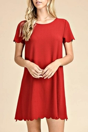 vanilla bay Robin Red Dress - Front cropped