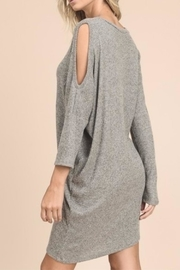 vanilla bay Sweater Midi Dress - Front full body