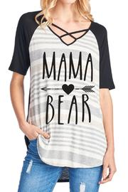 Vanilla Monkey Mama Bear Tee - Product Mini Image