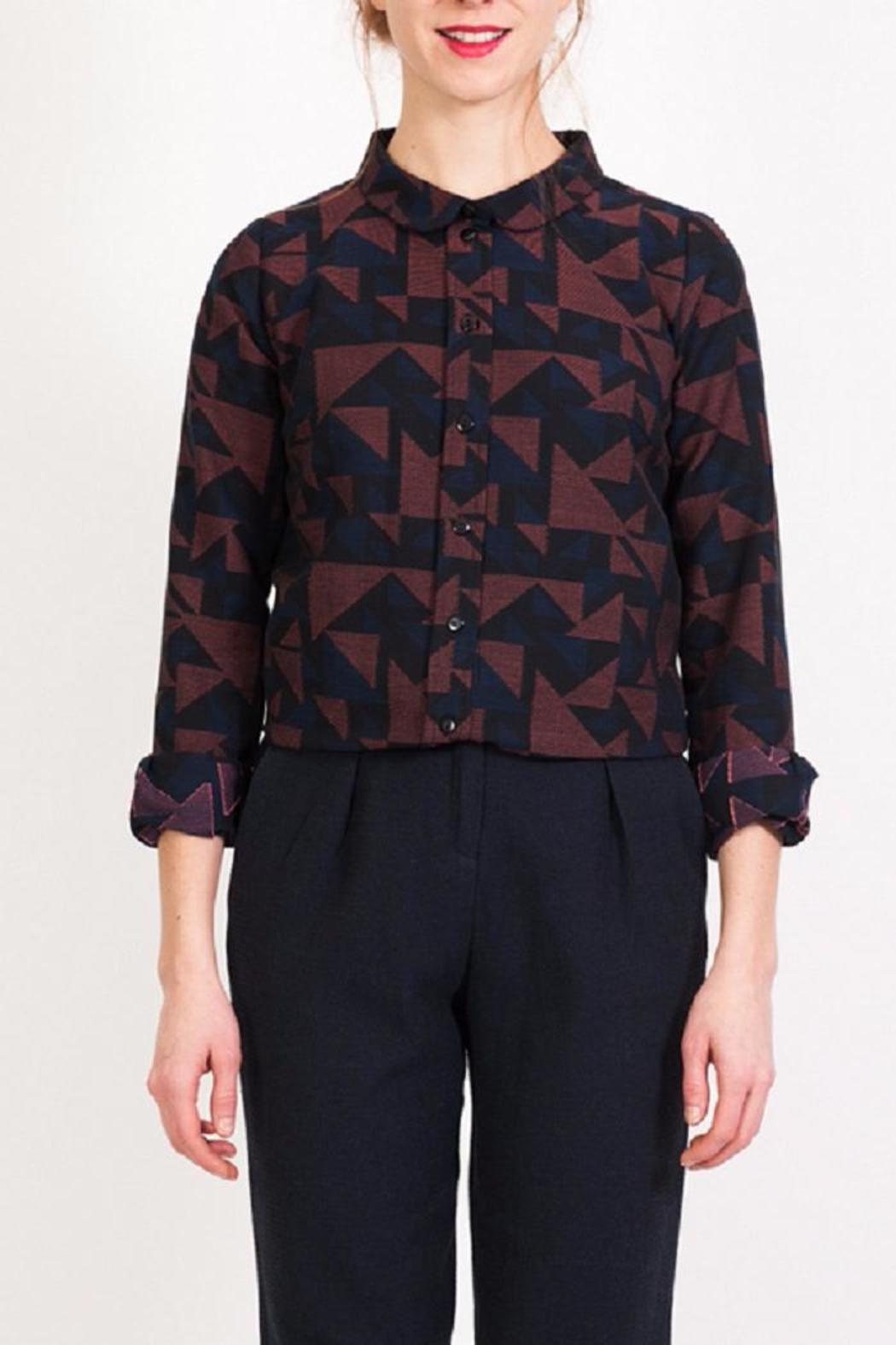 Vanina Escoubet Geometric Design Shirt From Pigalle Shoptiques