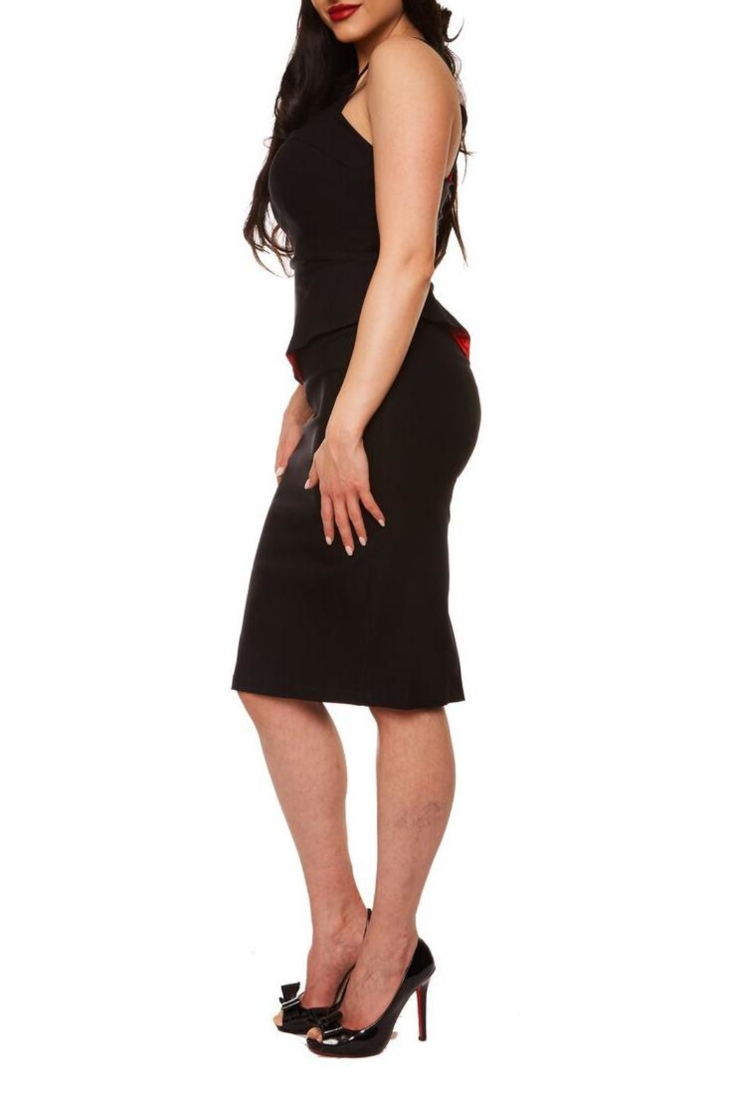 Rebel Love Clothing Vanity Wiggle Dress - Front Full Image
