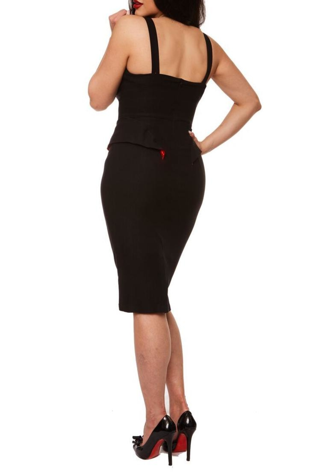 Rebel Love Clothing Vanity Wiggle Dress - Side Cropped Image