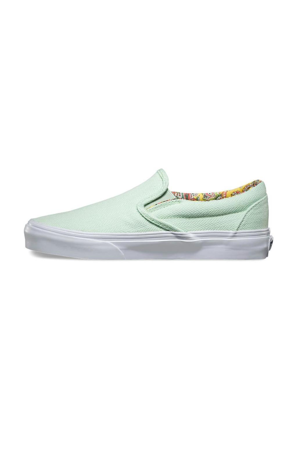 ae2c53cc5b Vans Pastel Green Slip-Ons from Mississippi by Wilai Boutique ...