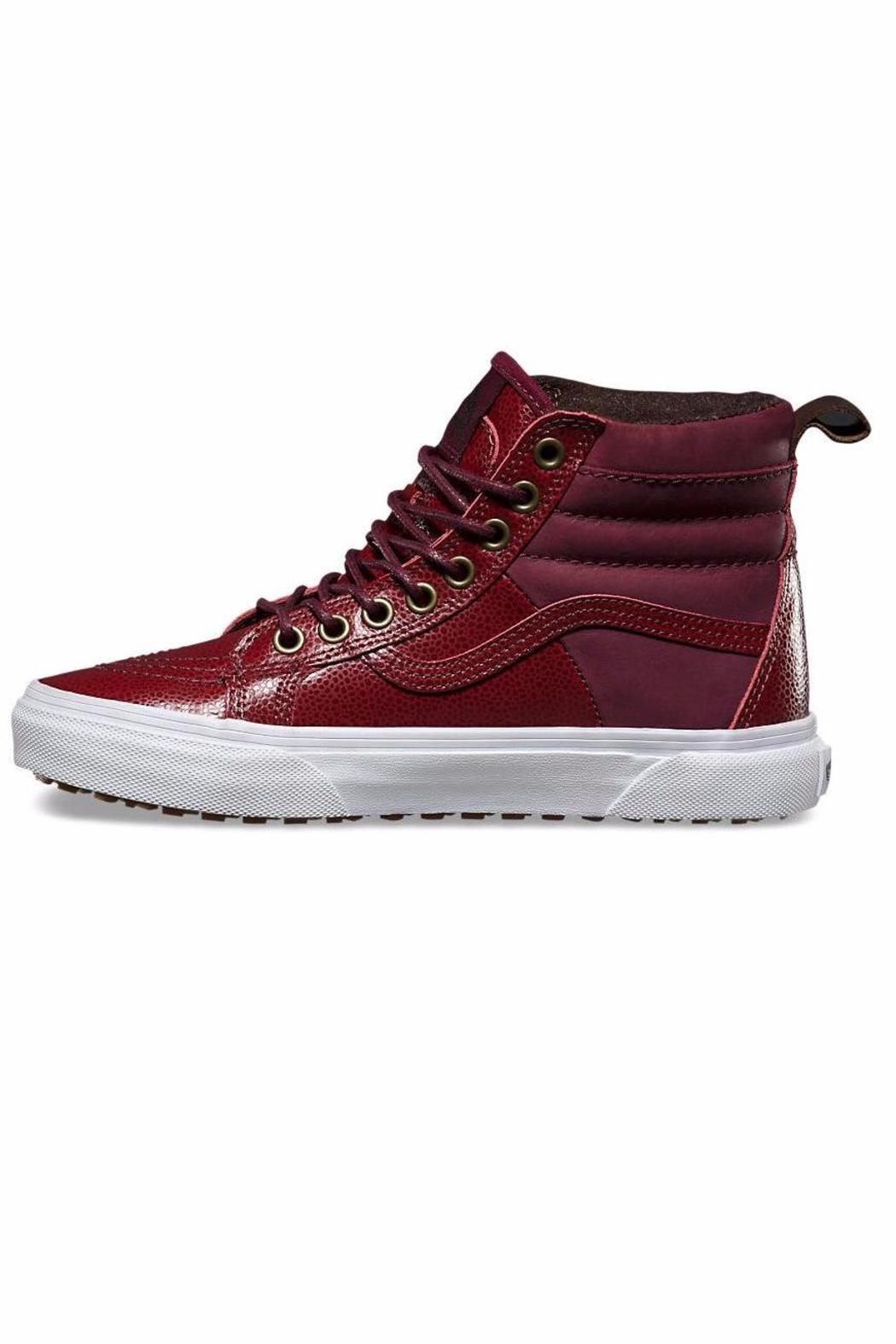 Vans Pebble Leather Hightop from