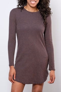 Vans Striped Ribbed Knit Dress - Product List Image