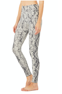 Alo Yoga  Vapor HW Snakeskin Legging - Alternate List Image
