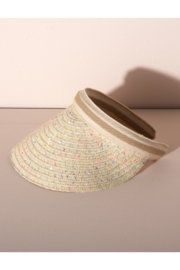 Shiraleah Vargas Straw Visor - Product Mini Image