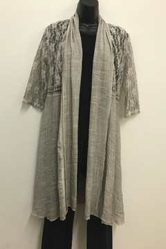 Variations  Long Lace Cardigan - Product List Image
