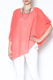 Variations  Pullover Poncho Blouse - Product Mini Image