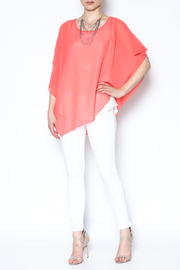 Variations  Pullover Poncho Blouse - Front full body