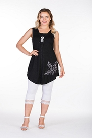 Variations  Two Button Tunic - Product Mini Image