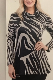 Variations  Zebra Print Tunic - Product Mini Image