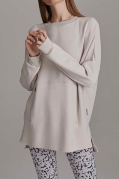 Varley Blush Extra Soft Tunic with small side slits - Product List Image