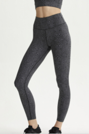 Varley Nocturnal Feathers Luna Legging - Front full body