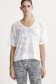 Varley Sheer V neck Tee - Product Mini Image