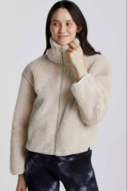 Varley Sherpa zip Front - Front cropped