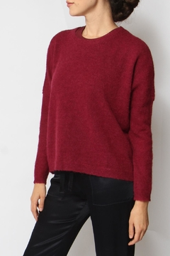 Elk Varm Wineberry Sweater - Product List Image