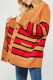 Vintage Sweaters – 1910s, 1920s, 1930s Pictures Varsity Cardigan Sweater $65.00 AT vintagedancer.com