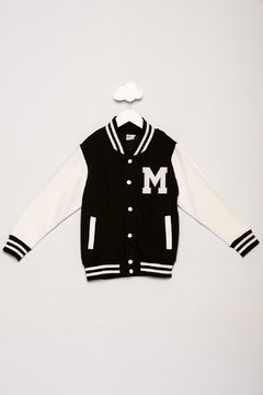 Shoptiques Product: Varsity Jacket With Initial