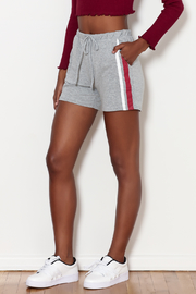 Michelle by Comune Varsity Side Stripe Short - Product Mini Image