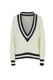 Bishop and Young Varsity V Neck Sweater - Product Mini Image