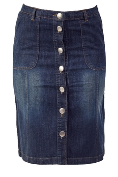 Shoptiques Product: A-Line Denim Skirt