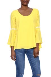 VaVa Yellow Blouse - Product Mini Image
