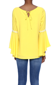 VaVa Yellow Blouse - Back cropped