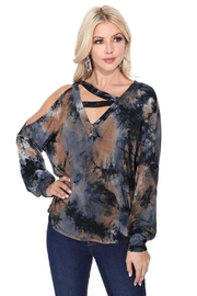 Vava by Joy Hahn Soina Tie-Dye Top - Product Mini Image