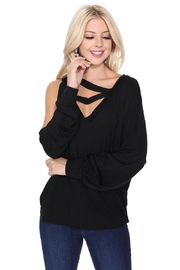 Vava by Joy Hahn Soina Zig-Zag Top - Product Mini Image