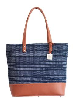 Shoptiques Product: Blue Ayate Woven Bag