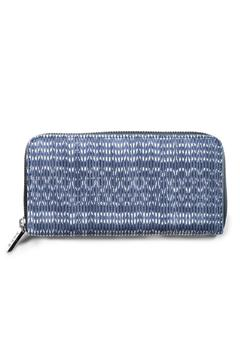 Shoptiques Product: Blue Woven Wallet