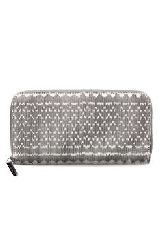 Vayu White Woven Wallet - Alternate List Image