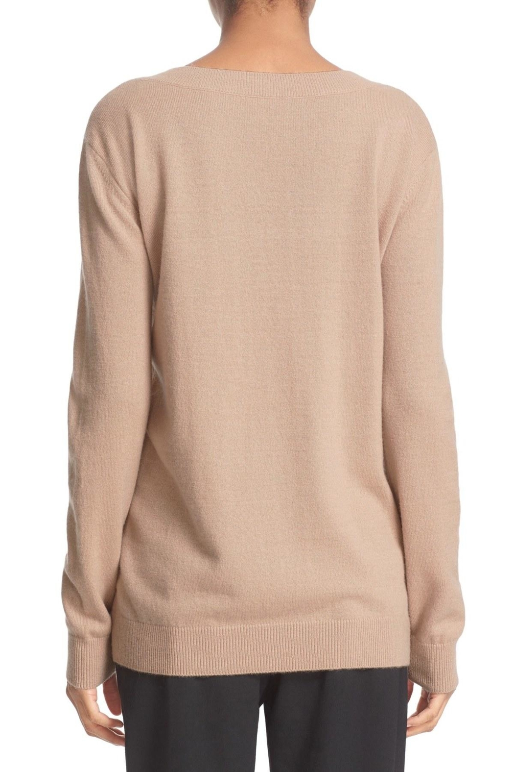 Vince Vee Cashmere Sweater - Side Cropped Image