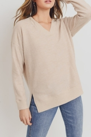 Cherish Vee Neck Tunic - Product Mini Image