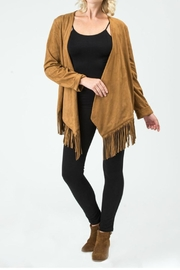 Biz Vegan Fringe Jacket - Product Mini Image