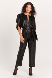 Olivaceous  Vegan Jumpsuit - Product Mini Image