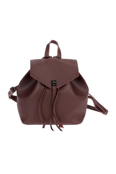 joseph d'arezzo Vegan Leather Backpack - Product List Image