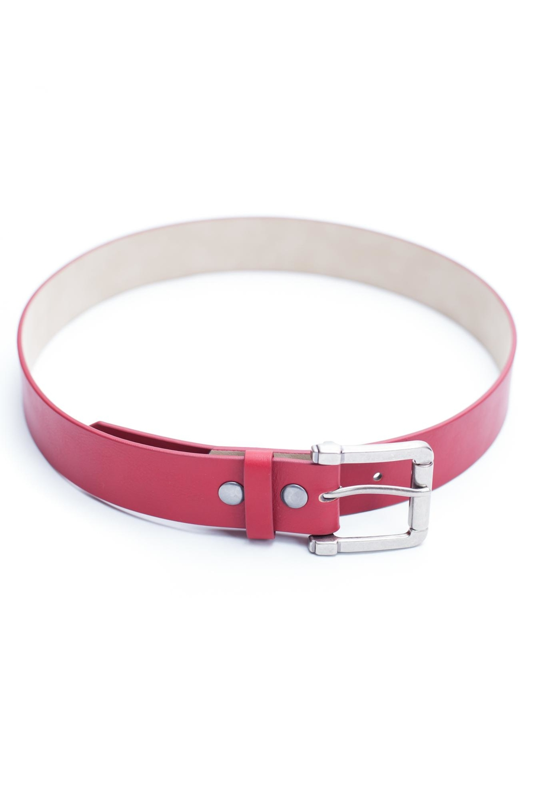 Anzell Vegan Leather Belt - Main Image