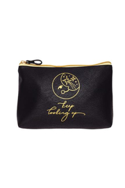Karma Vegan Leather Cosmetic Bags - Front cropped